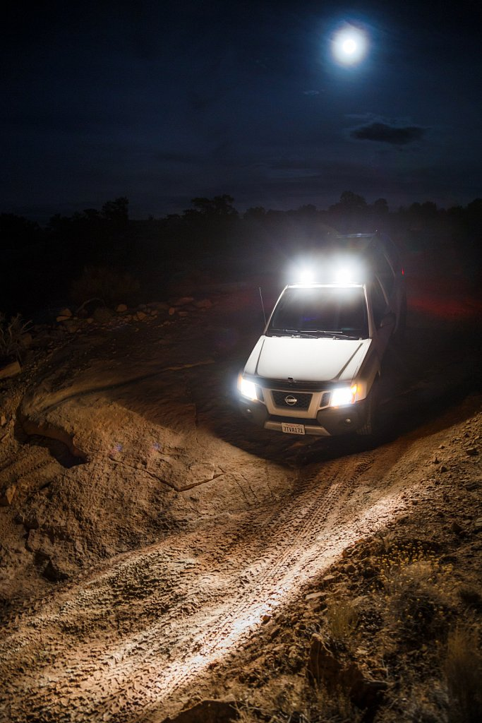 Offroad by Moonlight